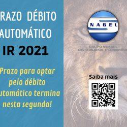 IR 2021: Optação Pelo Débito Automático Termina Nesta Segunda
